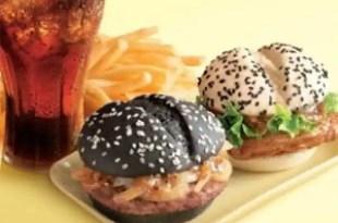 Las hamburguesas 'blanca y negra' de McDonalds