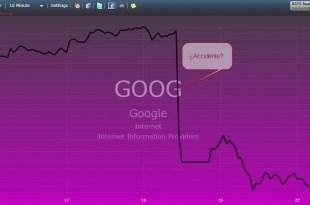 Principales directivos de Google vendieron antes del desplome