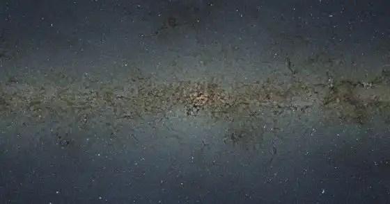Crean el mapa más detallado de la Vía Láctea