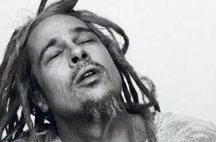 Brad Pitt cambia el look a los Bob Marley - Fotos