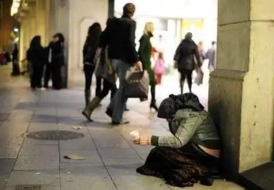 El 21% de los españoles vive en la pobreza