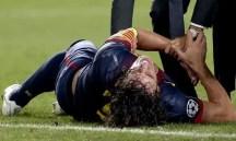 Puyol sufre una nueva lesion - Fotos