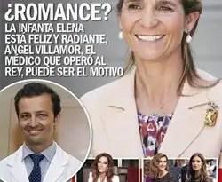 La Infanta Elena está enamorada del médico del Rey?