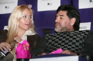 Maradona le niega el apellido al bebé que espera con su novia