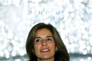 Ana Botella publica su sueldo en Internet