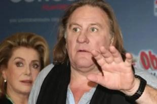 Gérard Depardieu arrestado por conducir borracho