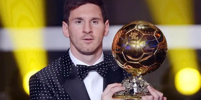 Messi es el mejor jugador de la historia al ganar su cuarto Balón de Oro consecutivo