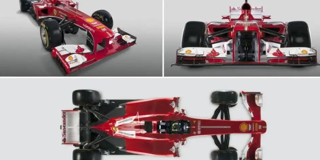 Mira la nueva Ferrari de Fernando Alonso - Fotos y Vídeo