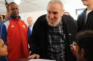 Reaparece Fidel Castro por primera vez desde 2006 - Fotos