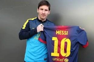 Messi renueva con el Barça por 16 millones al año hasta 2018