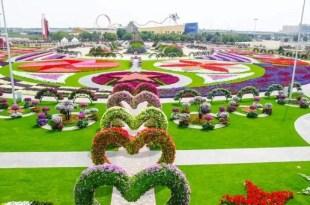 Conoce el jardín floral más grande del mundo - Fotos
