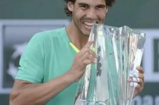 Rafa Nadal se proclama campeón en Indian Wells