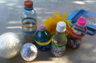 Shakira y Piqué fabrican los juguetes de su hijo con botellas de plástico - Fotos