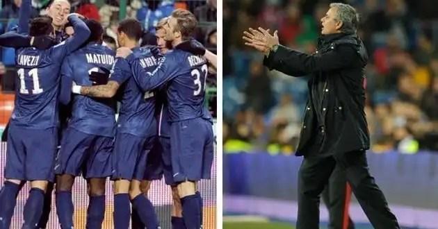 El Paris Saint Germain, posible nuevo destino para Mourinho