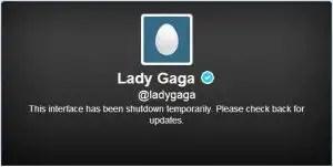 Lady Gaga cierra 'temporalmente' su cuenta de Twitter