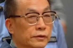 Un exministro chino es condenado a pena de muerte por corrupción