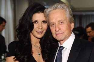 Michael Douglas y Catherine Zeta-Jones separados