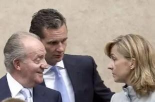 El rey Juan Carlos prestó 1,2 millones de euros a su hija y a Urdangarin