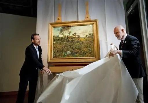 Descubren en Amsterdam una nueva pintura de Vincent Van Gogh-2