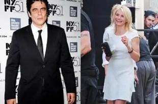 Cameron Díaz y Benicio del Toro juntos