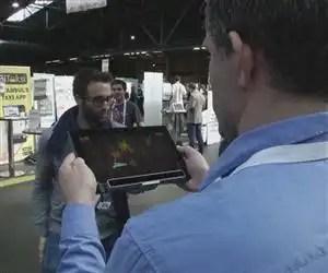 Lo último: Crean un 'gadget' para controlar la tablet con la vista - Vídeo