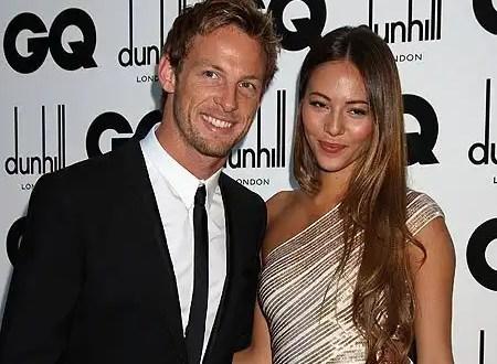 Jenson Button y Jessica Michibata se casan