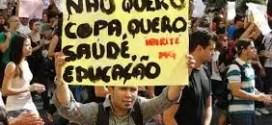 Brasil 'arde' con protestas a horas de arrancar el Mundial de fútbol
