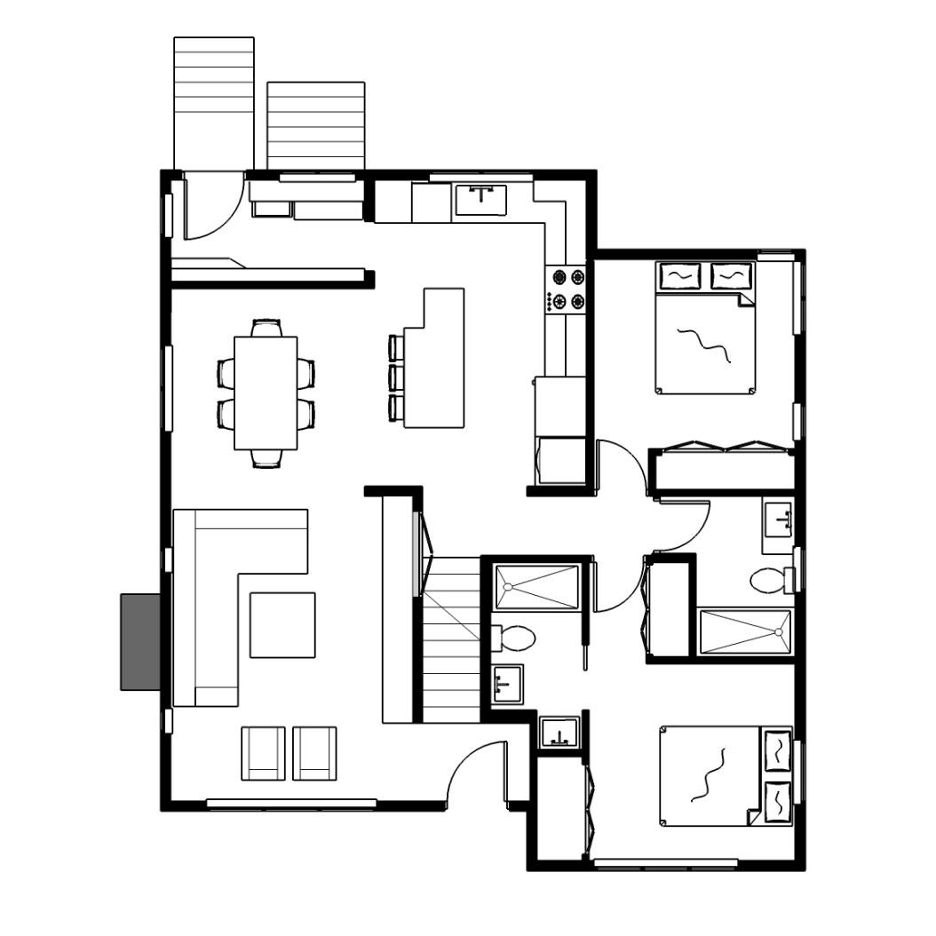 Main Floor - Option 1
