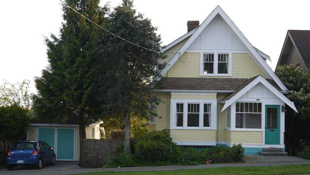The New West home of Rick Vugteveen is in Brow of the Hill, an area with fixer-uppers and rentals. (Rick Vugteveen) ~ Globe and Mail Article