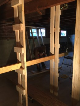 The beam ladders...awesome diy tool!