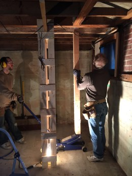 Fitting a new beam