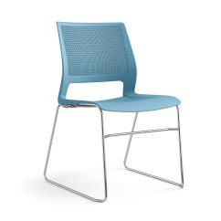 24 Inch High Folding Chairs Blue Accent Chair With Arms Lumin | Multipurpose & Stools Seating Sitonit
