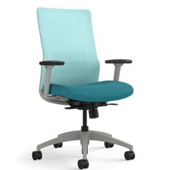 Aqua Desk Chair Best For Guitar Playing Novo Task Work Chairs Seating Sitonit Highback Mesh Momentum Odyssey Cruise Fog Frame Height Adjustable Arms