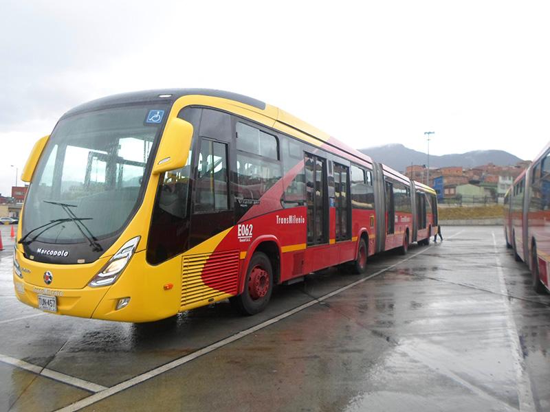 Nuevo modelo de bus para el Sistema TransMilenio