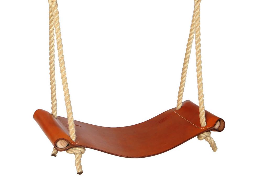 Leather Rope Swing  Sitting Spiritually
