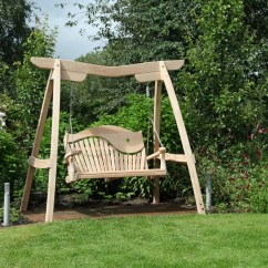 Swing Chair Garden Uk 4 Dining Chairs Seats Handcrafted Bespoke Swings Sitting Spiritually Curved Oak Seat