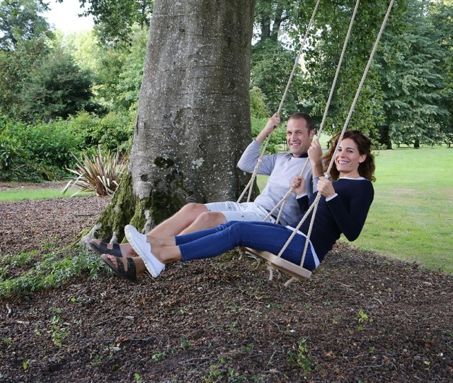 Rope Swing Lifestyle Used In The Garden