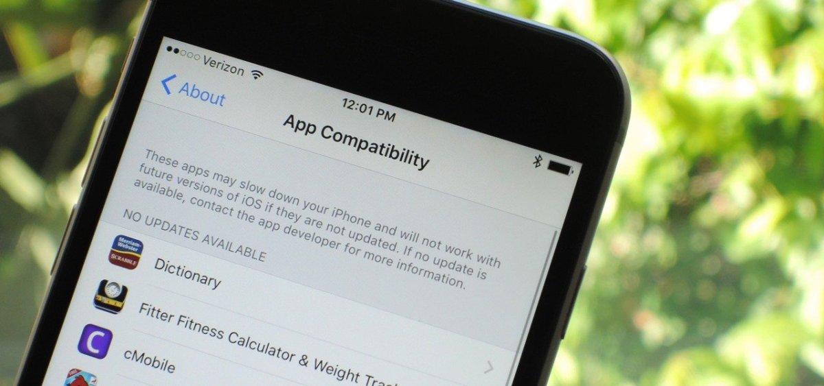 iOS 11 Brings Death to 32-Bit Apps