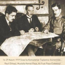 Atatürk Sivas'ta