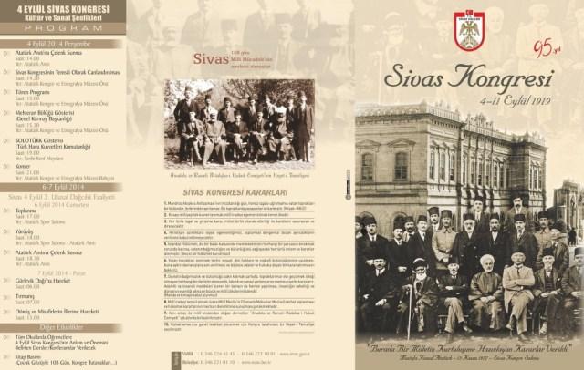 Sivas Kongresi'nin 95. yılı