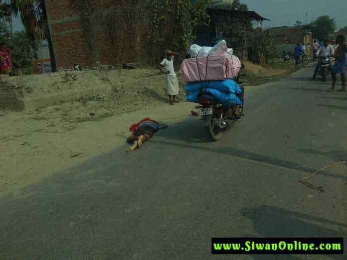 accident in barhariya