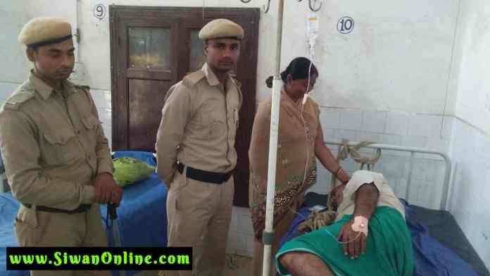police in hospital