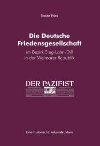 Umschlag Fries Friedensgesellschaft