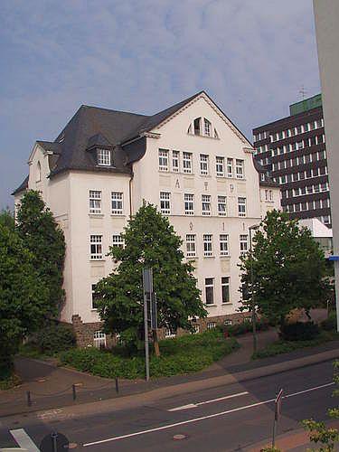 Das Alte Lyzeum in Olpe beherbergt das Stadtarchiv Olpe, die Musikschule und die Begegnungsstätte Quelle: Homepage Stadt Olpe