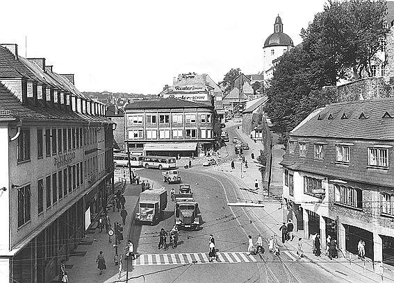 Siegen, Kölner Tor, 1953