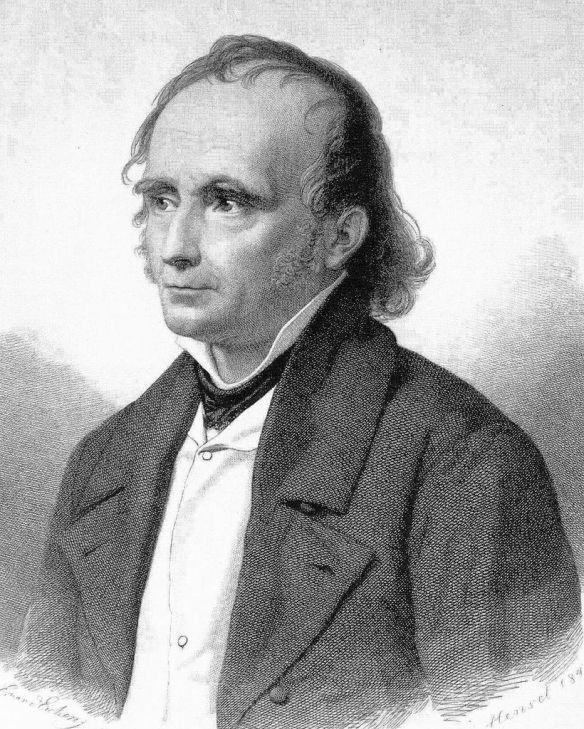 Porträt von F.W.A. Diesterweg (1890-1866). Vorlage: Stadtarchiv Siegen