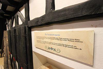 Ein Schmuckstück ist die mittelalterliche Handwerkergasse. Quelle: Museum Wilnsdorf