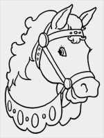 Hufeisen Vorlage Zum Ausdrucken Angenehm Malvorlage Pferd ...