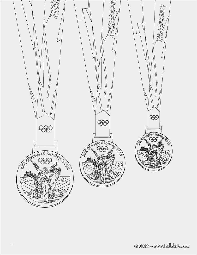 Medaille Basteln Vorlage Elegant Olympische Medaillen Zum