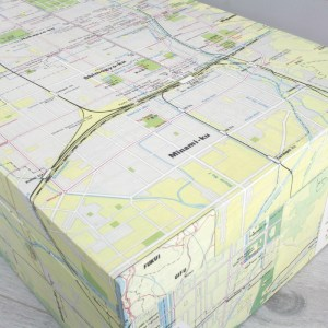 wedding memory and travel map box by six0six design japanese